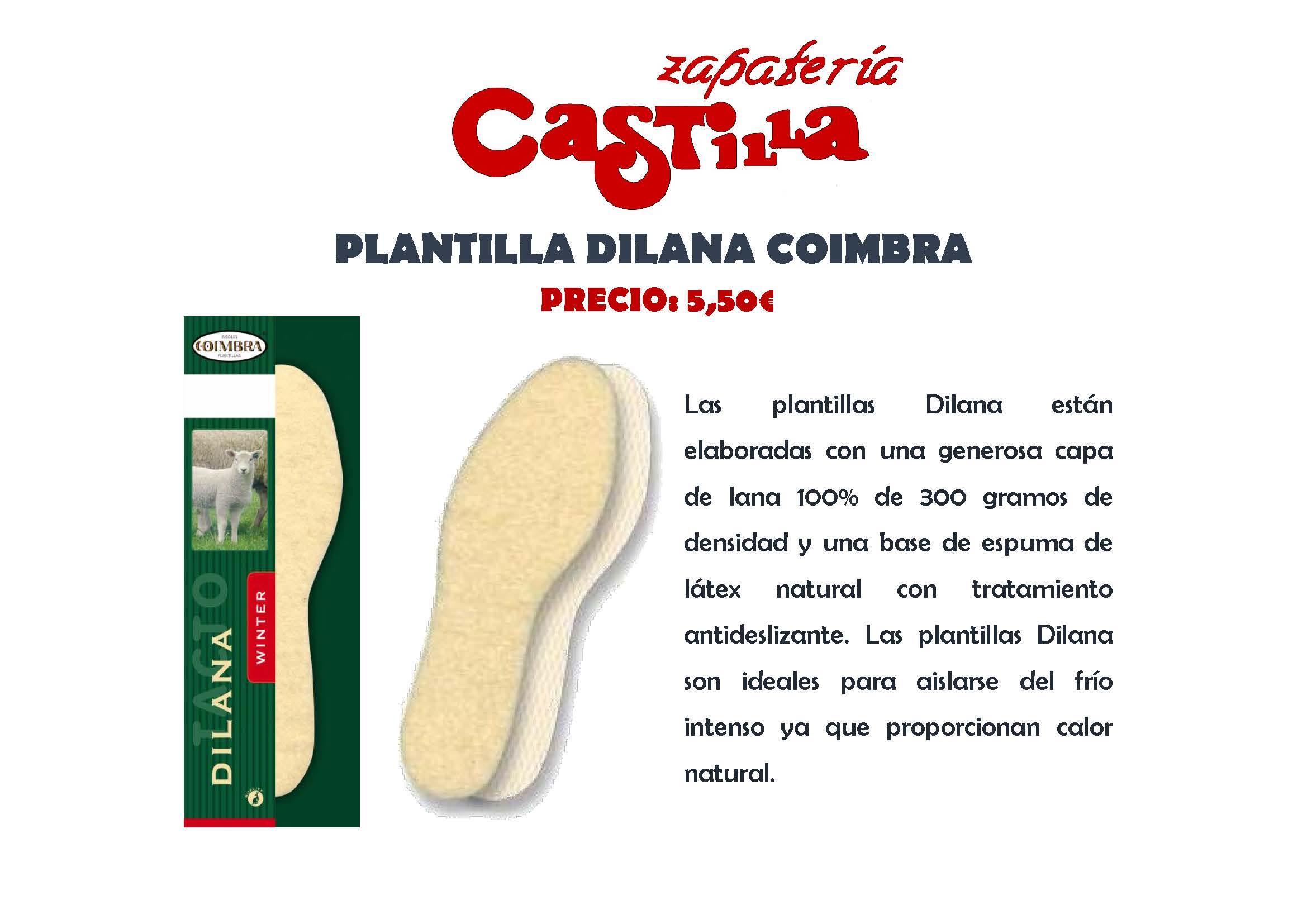 Plantillas - Zapatería Castilla